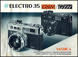 yashica Electro 35 manual cover