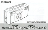 yashica t4 super manual cover